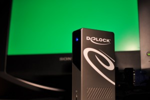 DeLock Port Replicator contains DL-165
