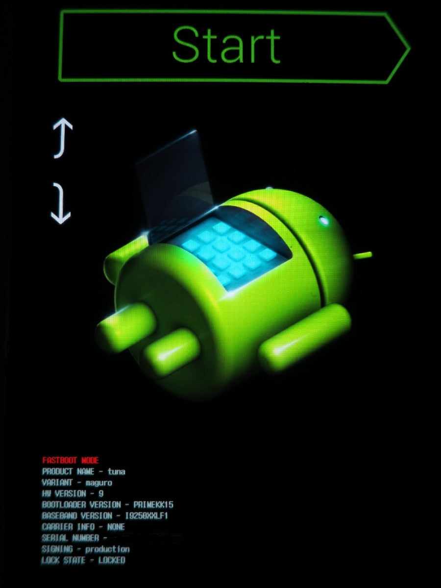 android 1.0 driver galaxy nexus fastboot