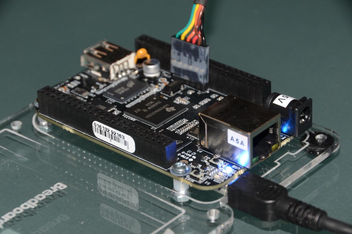 Flash BeagleBone Black using Linux | falstaff - yet another tech blog