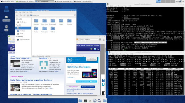 Fedora 20 on Toradex Colibri T20